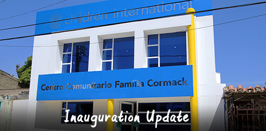 Inauguration Update: August 2016