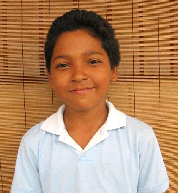Kevin at age 10
