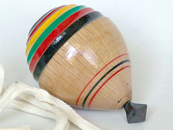 Spinning top popular in Latin America
