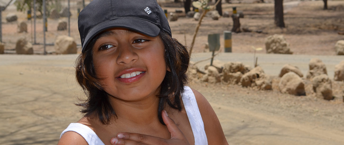 Angel More hopes to become the youngest girl to climb