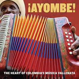 CD cover of Vallenato songs
