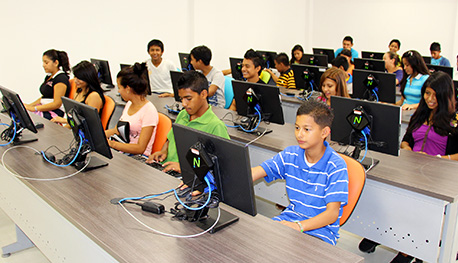 Youth computer center