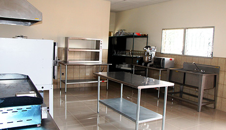 Staff kitchen