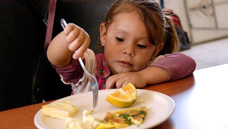 Una mejor nutrición equivale a niños más saludables