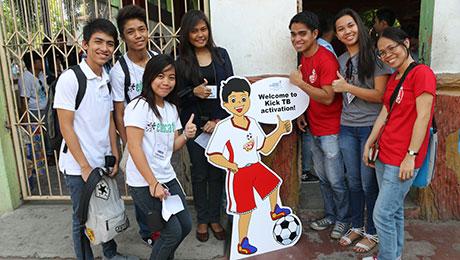 La campaña de Kick TB promueva que la gente se haga una prueba