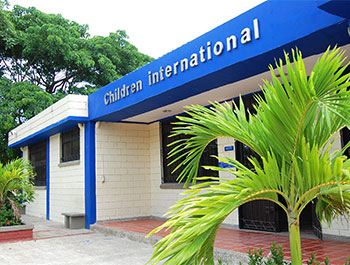 Children International community center in Colombia