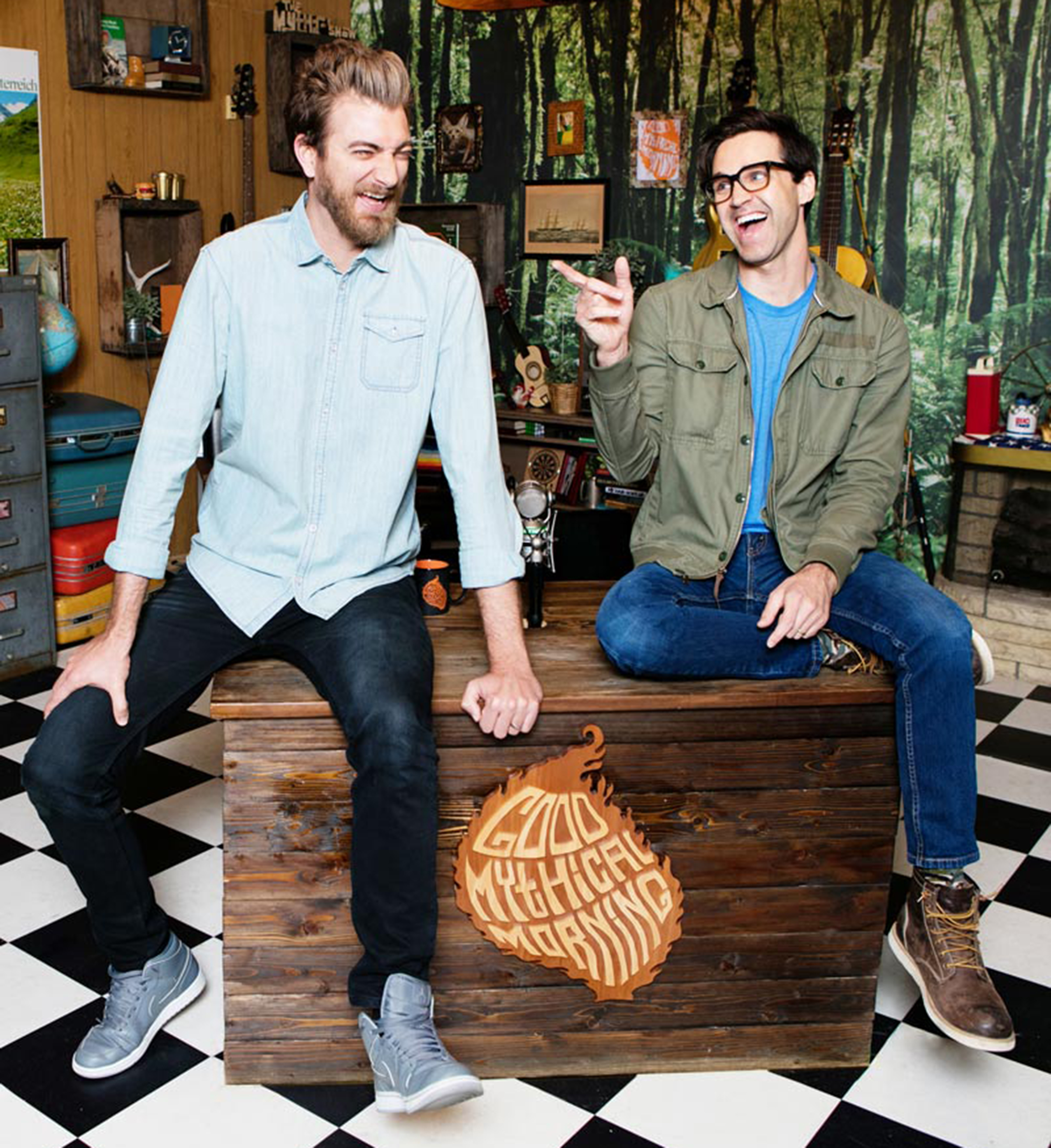 how old are rhett and links kids