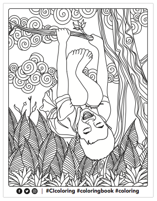 CI playgrounds coloring page