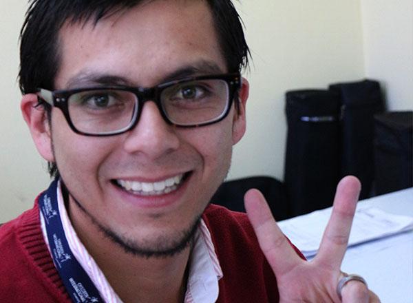 Andrés Rosero, Quito, Ecuador