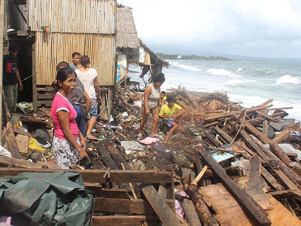 Haiyan fue el tifón o tormenta tropical número 24 en golpear el país en 2013.