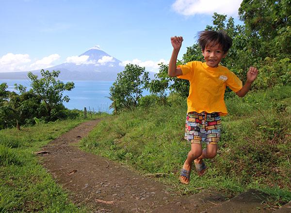 Jed has many reasons to jump for joy.