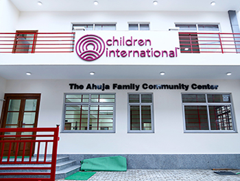 Children International community center in India