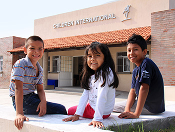 Children International community center in Mexico