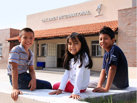 Children International community center in Mexico