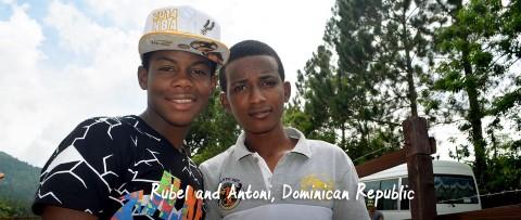 Rubel and Antoni portrait