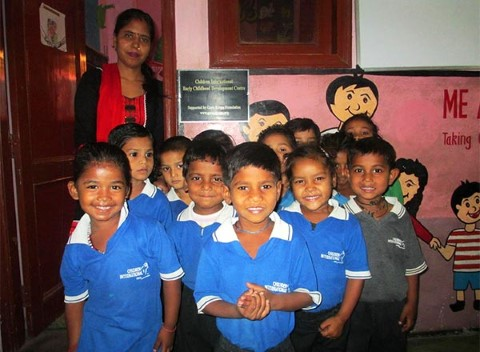 By funding Children International's ECD program, the Guru Krupa Foundation is helping enrich the lives of children ages 3 to 5 by ensuring opportunities for learning and growth.