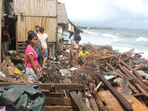 Haiyan was the 24th typhoon or tropical storm to hit the nation in 2013.