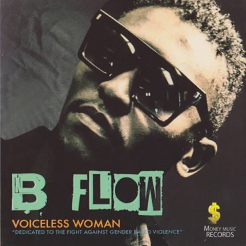 """B-Flow's """"Voiceless woman"""" album cover"""