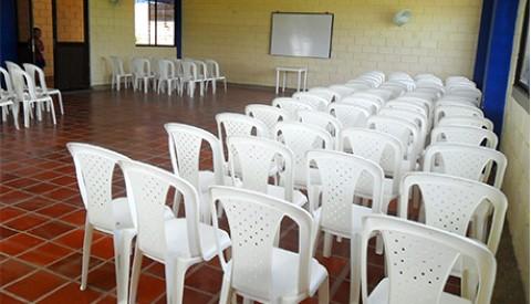 Community enrichment hall