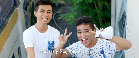 Gilbert y Don hacen payasadas