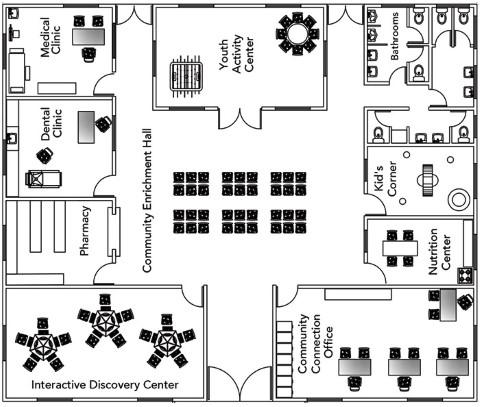 Villa Canales Floor Plan