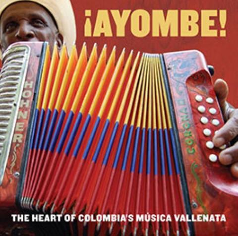 CD cover of Vallenato songs