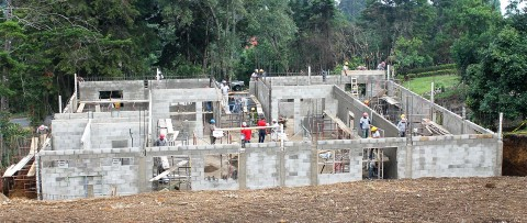 We're making progress on our newest community center in Guatemala!