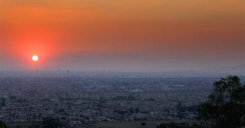A beautiful sunrise in Mexico