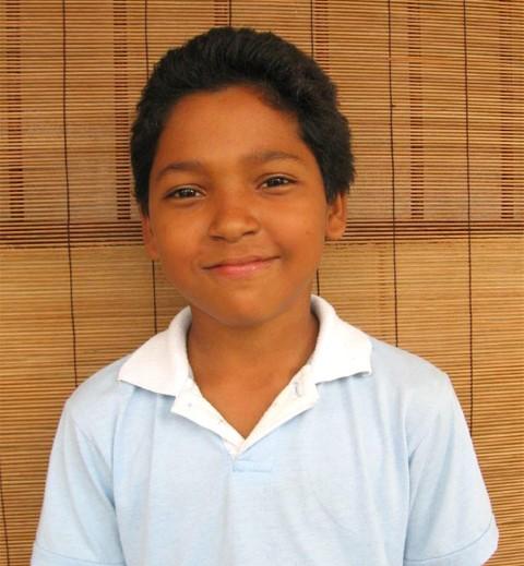 Kevin a los 10 años de edad