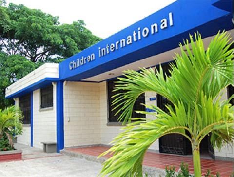 Children International community center in Colombia