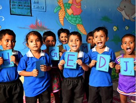 Kids in Children International's early childhood development program