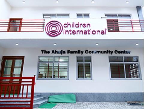 Children International community center in India