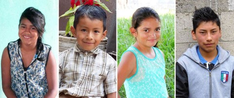 Delos Advisors sponsored kids, from Guatemala