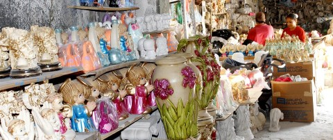 Colorful Mexican handicrafts