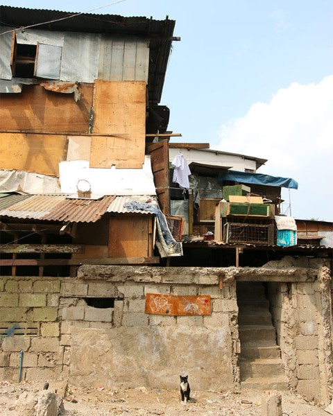 Una casa precaria