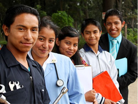 Children International equips teens with skills they need to be successful in their future careers.