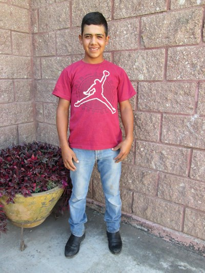 Help José De Jesús by becoming a child sponsor. Sponsoring a child is a rewarding and heartwarming experience.