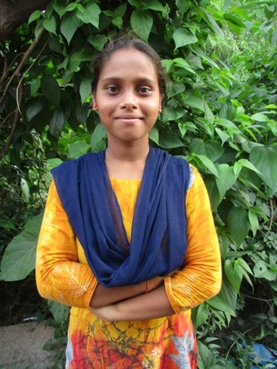 Help Payel by becoming a child sponsor. Sponsoring a child is a rewarding and heartwarming experience.