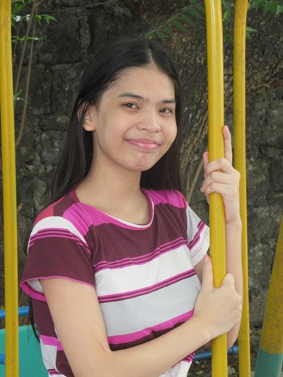 Help Jamie Franchesca V. by becoming a child sponsor. Sponsoring a child is a rewarding and heartwarming experience.