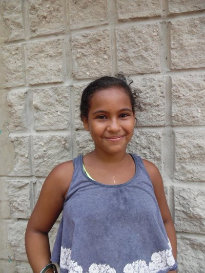 Help Yeily  Tatiana by becoming a child sponsor. Sponsoring a child is a rewarding and heartwarming experience.