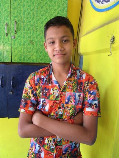 Help Surja by becoming a child sponsor. Sponsoring a child is a rewarding and heartwarming experience.
