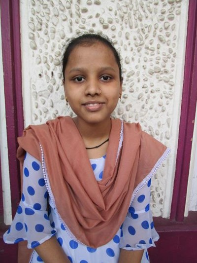 Help Aayesha by becoming a child sponsor. Sponsoring a child is a rewarding and heartwarming experience.