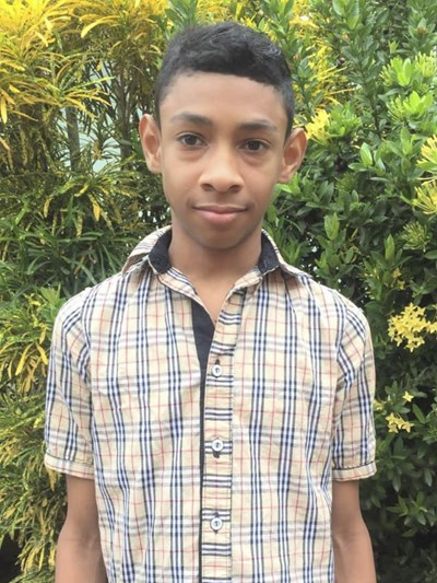 Help Fadid Stiven by becoming a child sponsor. Sponsoring a child is a rewarding and heartwarming experience.