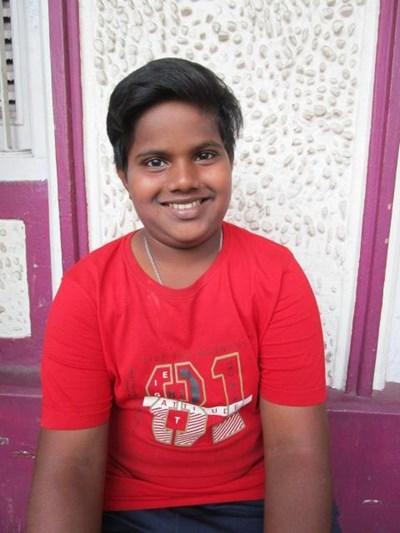 Help Sourab by becoming a child sponsor. Sponsoring a child is a rewarding and heartwarming experience.