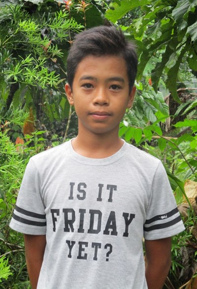 Help Arvin Arciga by becoming a child sponsor. Sponsoring a child is a rewarding and heartwarming experience.
