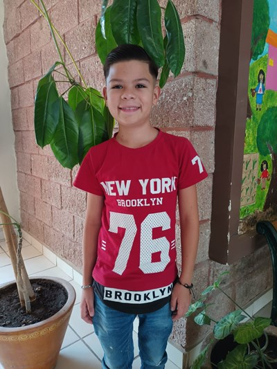 Help Saúl by becoming a child sponsor. Sponsoring a child is a rewarding and heartwarming experience.