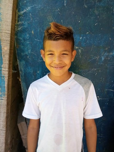 Help Javier Enrique by becoming a child sponsor. Sponsoring a child is a rewarding and heartwarming experience.