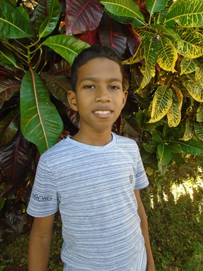 Help Crismael  Antony by becoming a child sponsor. Sponsoring a child is a rewarding and heartwarming experience.