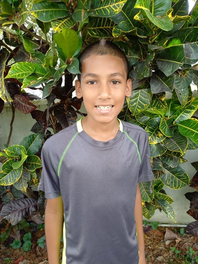 Help David Stevend by becoming a child sponsor. Sponsoring a child is a rewarding and heartwarming experience.