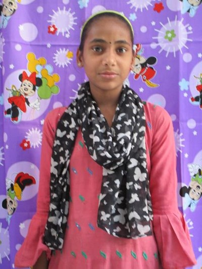 Help Nasreen by becoming a child sponsor. Sponsoring a child is a rewarding and heartwarming experience.